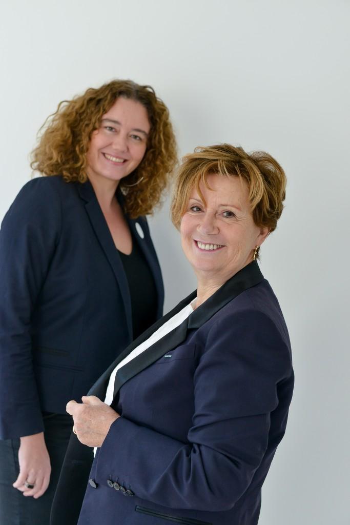 Carine Tissot et Christine Phal