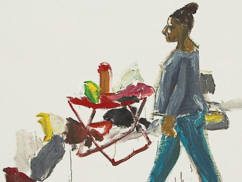 Damien Cabanes, Paris, Galerie Eric Dupont. Du 11.03 au 22.04.2017