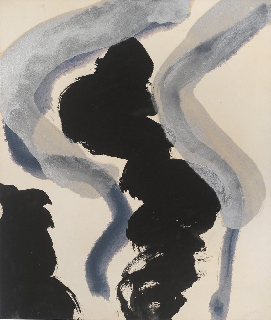 Kimber-Smith-Sans-titre-10-1957-encre-et-peinture-acrylique-sur-papier-377-x-318-cm-courtesy-Galerie-Jean-Fournier-865×1024