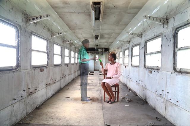 Gossette Lubondo Imaginary Trip , 2016 Photographie 50 x 75 cm L'Agence à Paris.
