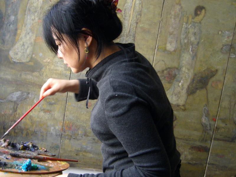 Rencontre avec l'artiste chinoise Jua Juan Li dans son atelier parisien