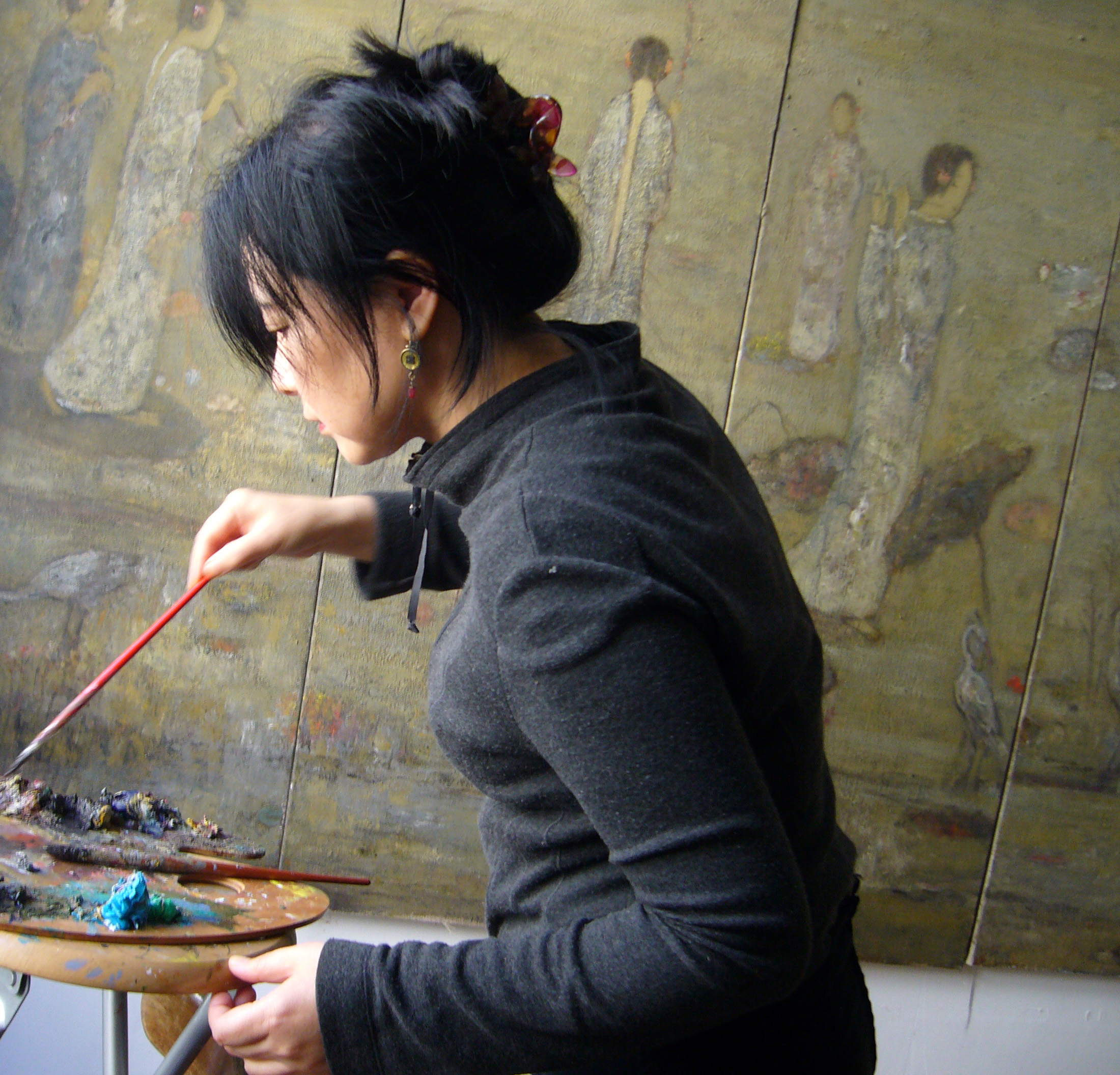 Atelier rencontre artiste