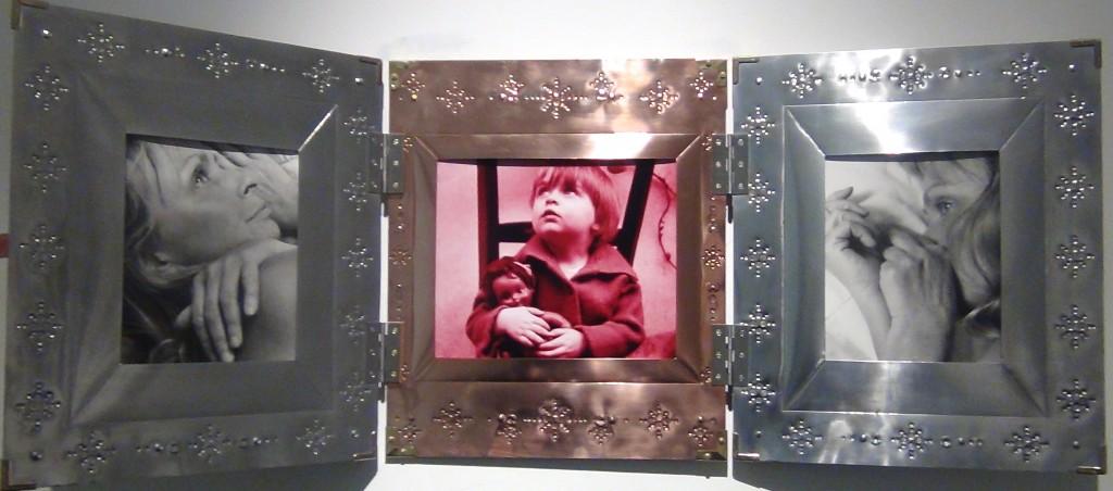Vue de l'exposition Agnès Varda galerie Obadia