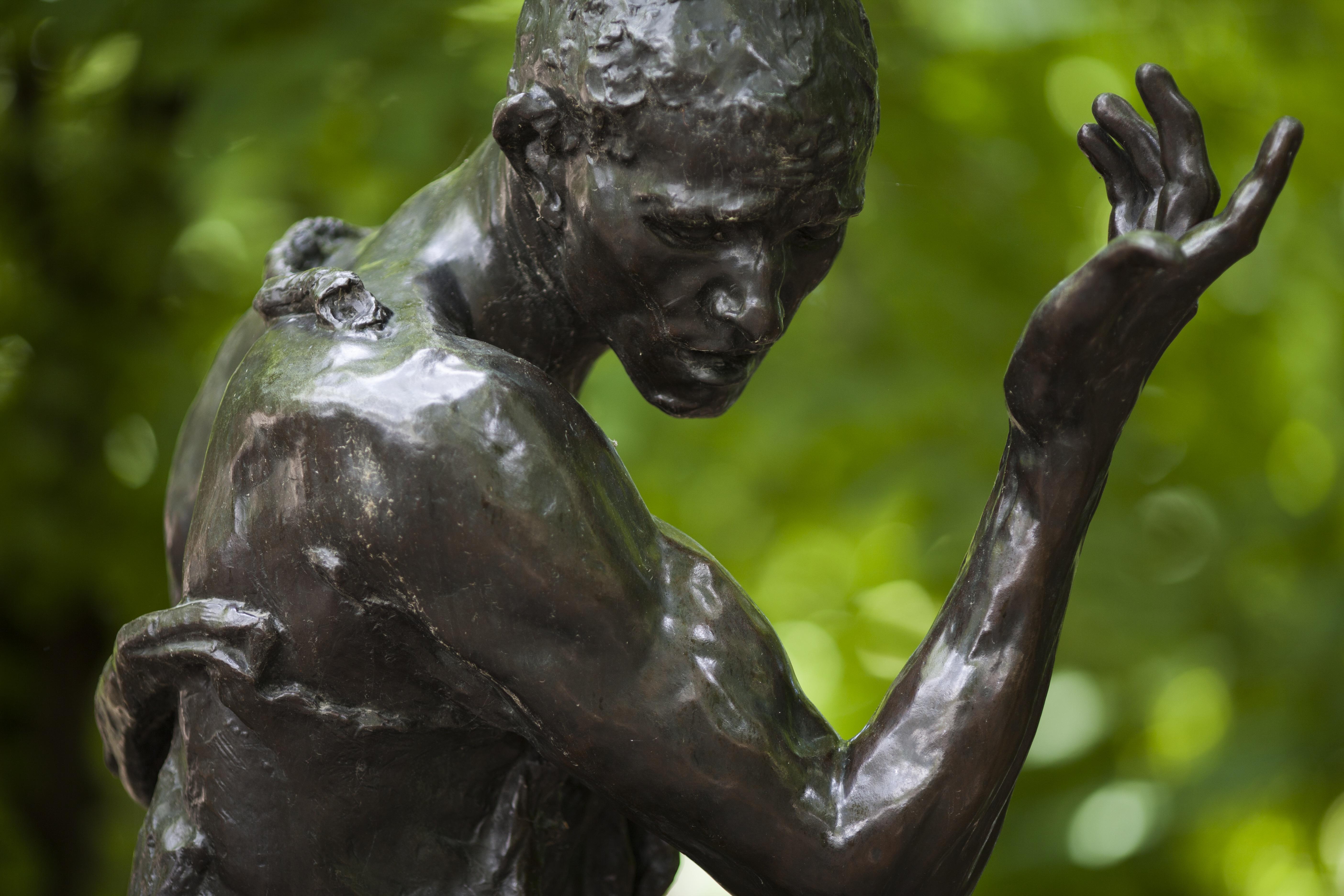 Auguste Rodin, Pierre de Wissant, détail, bronze, 1887, H. : 214 cm ; L. : 106 cm ; P. : 118 cm, S.6139, © Musée Rodin, Alexis Berg