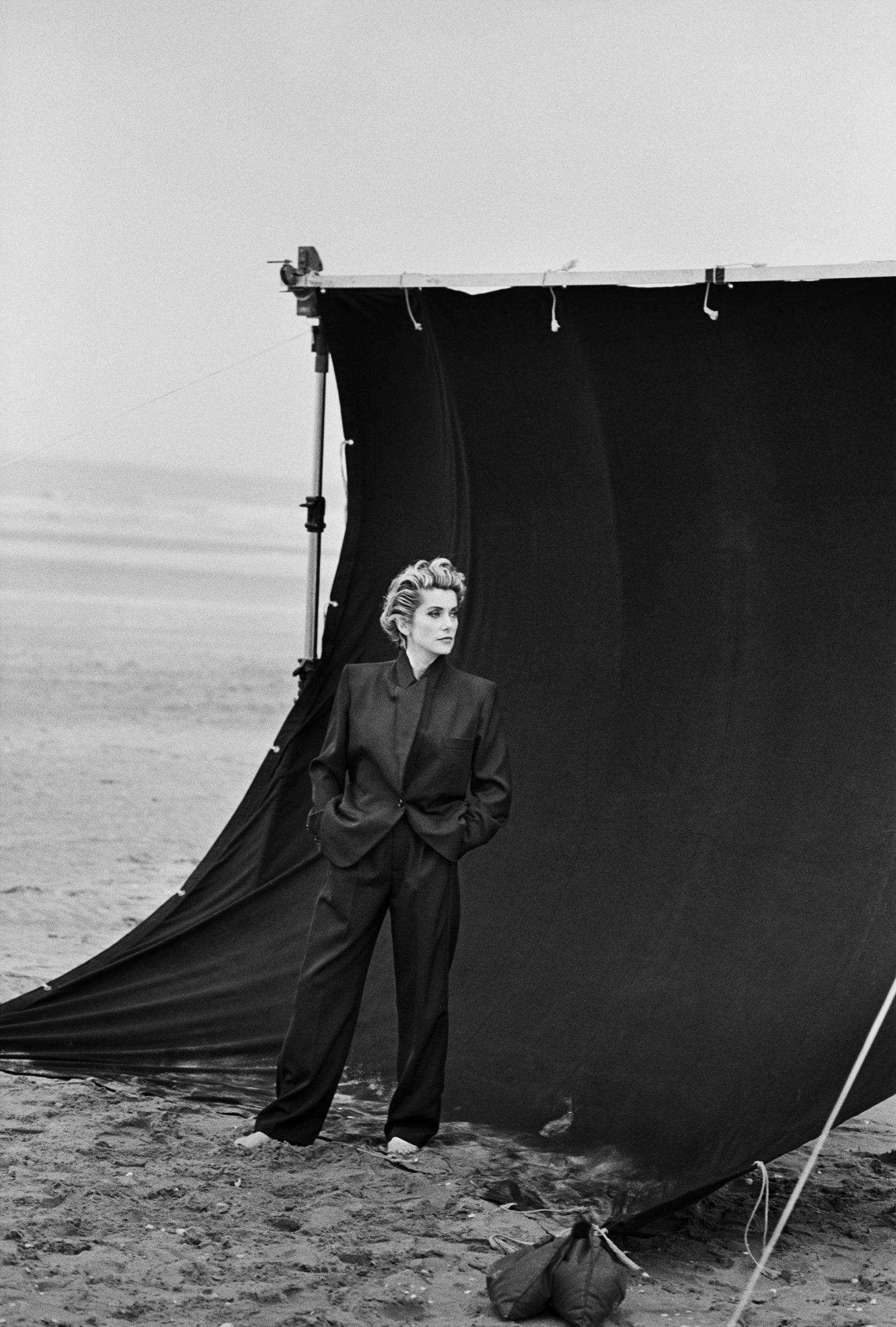 Catherine Deneuve, 1991 ©Peter Lindbergh