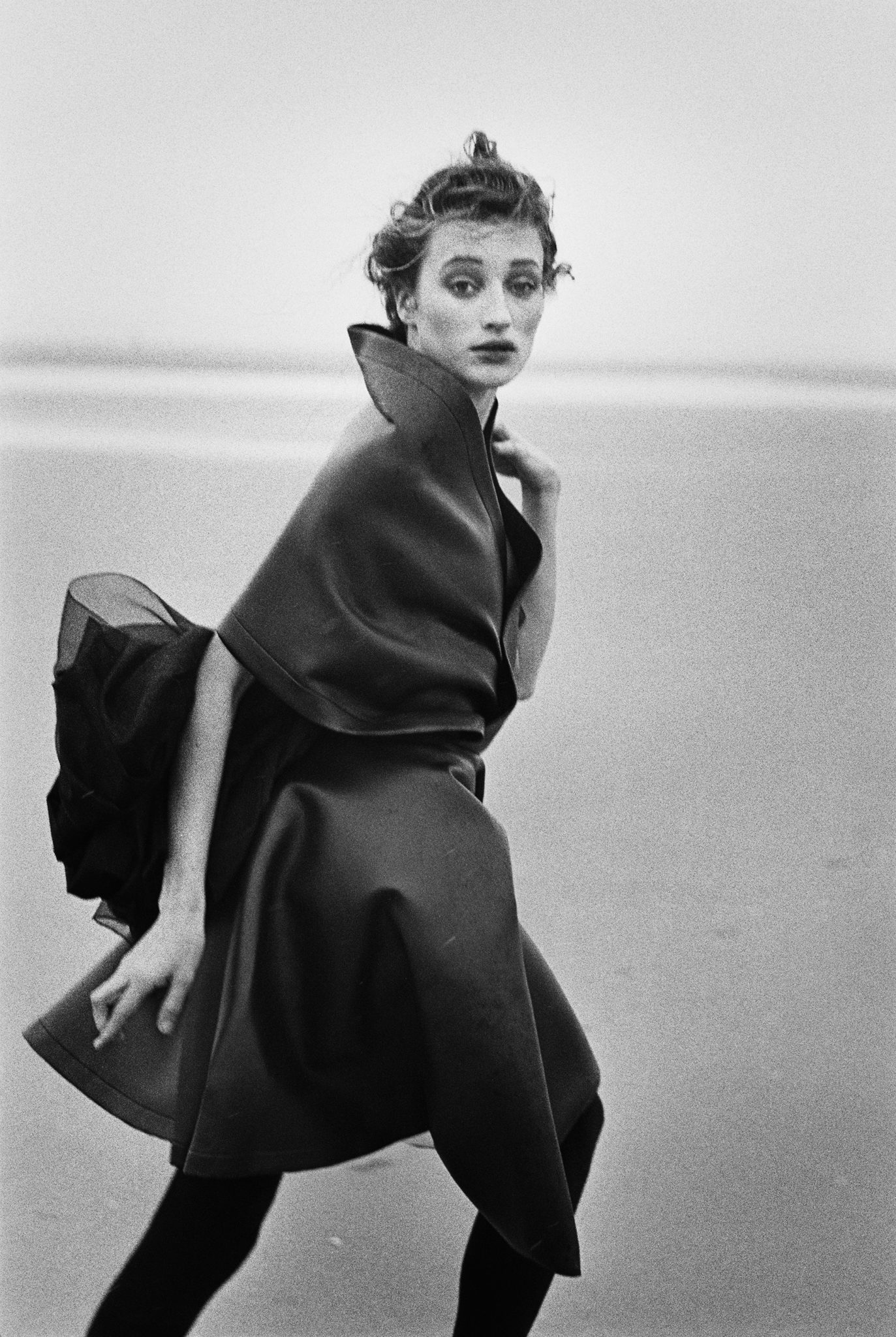 Marie-Sophie Wilson, 1987 ©PeterLindbergh