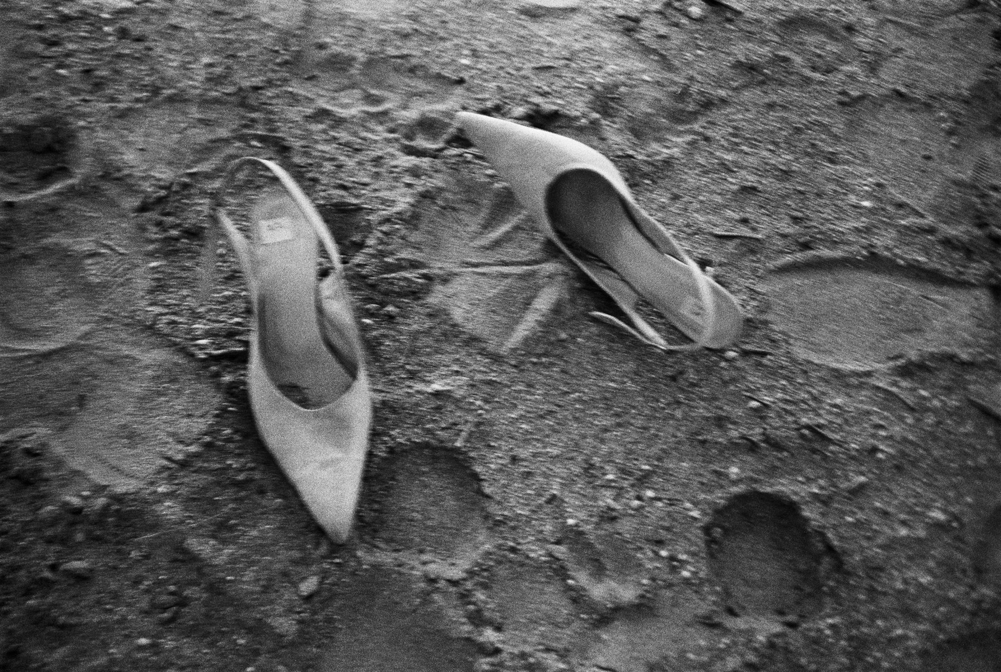 Milla's shoes, 1990 ©Peter Lindbergh