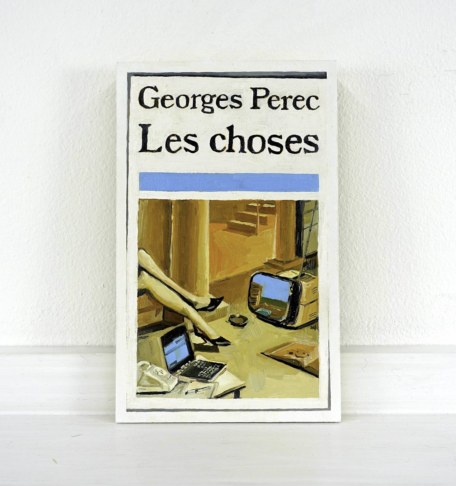 Conrad Bakker, Untitled Project_ Things [Les choses . Georges Perec. Pocket. Illustration de couv- Peyrols. Renaudot 1965 | eBay]