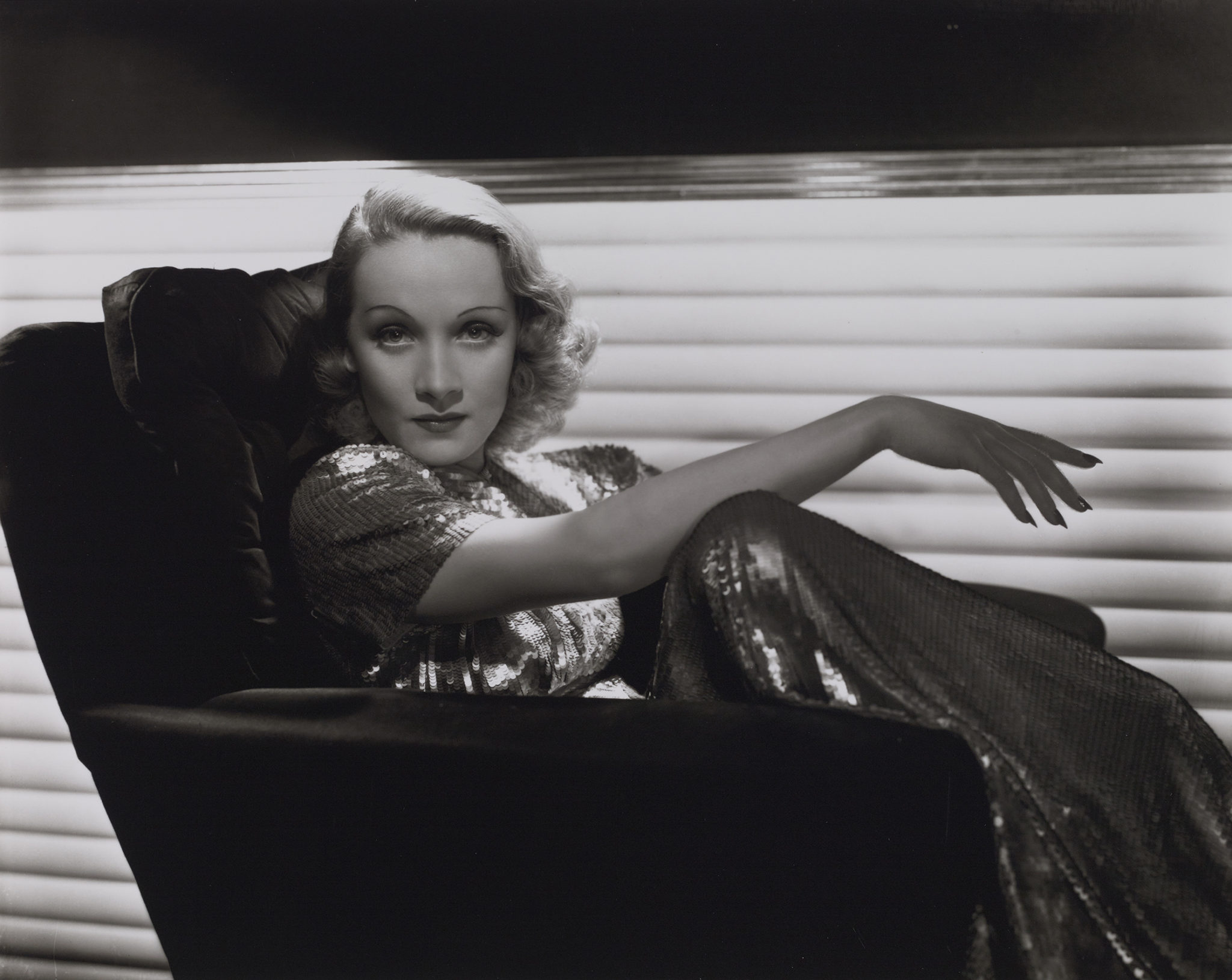 George Hurrell Marlene Dietrich, vers 1935-1936 © Bridgeman Images