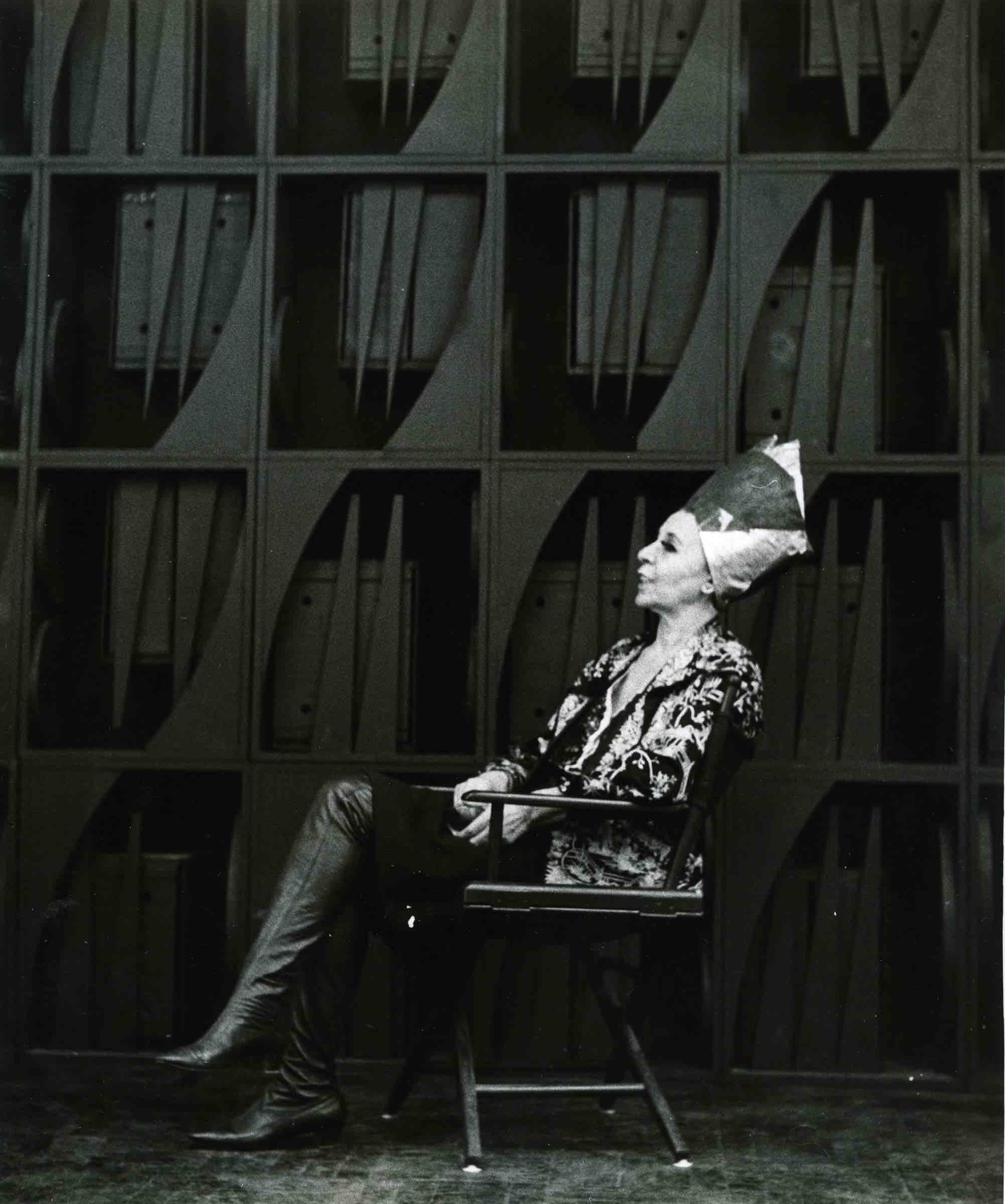 Portrait de Louise Nevelson