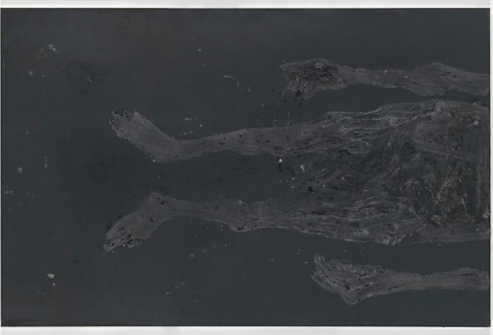 Aufrecht oder nicht? 2015 Oil on canvas 195 x 300 cm (76,77 x 118,11 in)