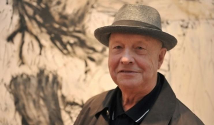 Georg Baselitz à la galerie Suzanne Tarasiève. Evénement.
