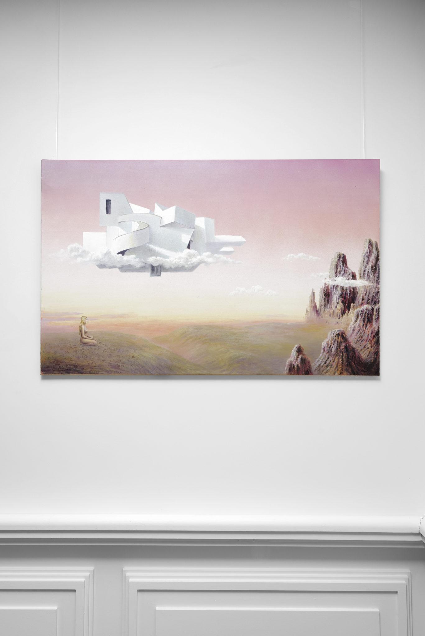 Chambres à part 13 – Parfums de Femmes – Ori Gersht – Andreas Dobler, The Crown of Creation, 2005, huile sur toile, 65×100 cm – copyright Aurélien Mole – Laurence Dreyfus