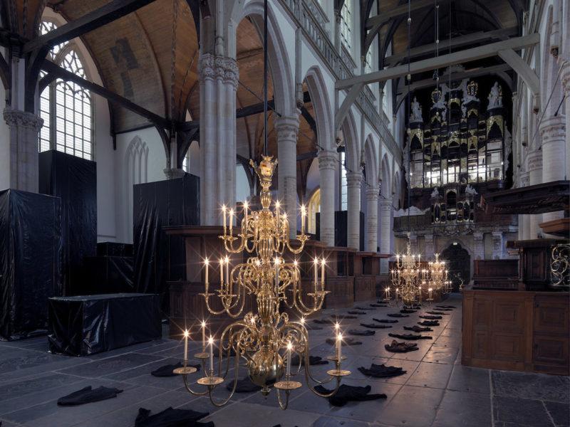 Christian Boltanski installe une oeuvre dans une église d'Amsterdam. Du 24 novembre 2017 au 29 avril 2018
