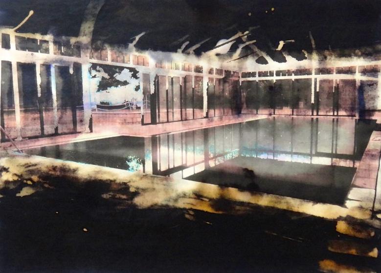 Christine Barbe présente de superbes toiles à la galerie Eric Mouchet à partir du 27 janvier. Voir le portfolio.