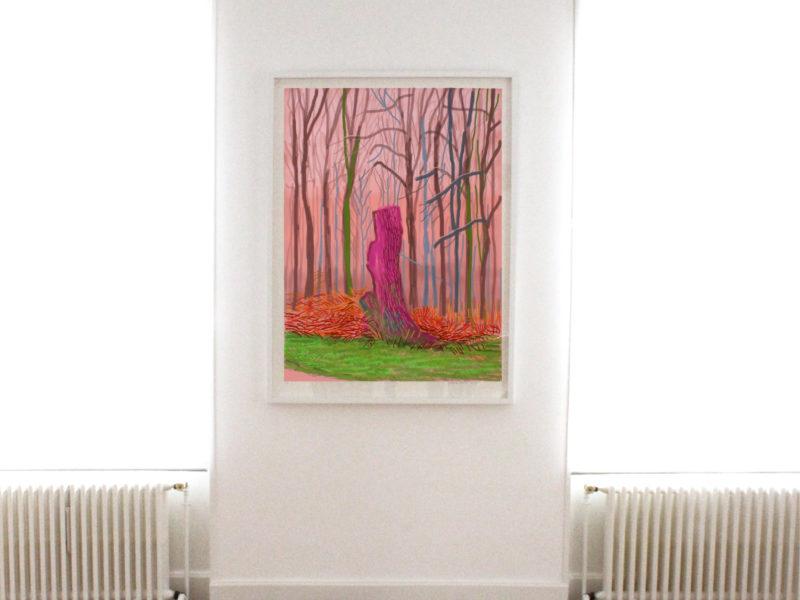 Botanical envahit la maison galerie Louis Gendre à Chamalières avec des oeuvres de Hockney, Nash, Kuroda, Ferrer...