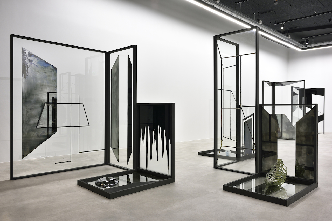 Pia Rondé & Fabien Saleil, Cité-Fantôme, 2017_Techniques mixtes, dimensions variables © Rebecca Fanuele