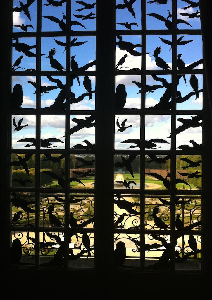 Jean-Luc Bichaud, 12 concert d'oiseaux- détail- château de champs sur Marne – copie