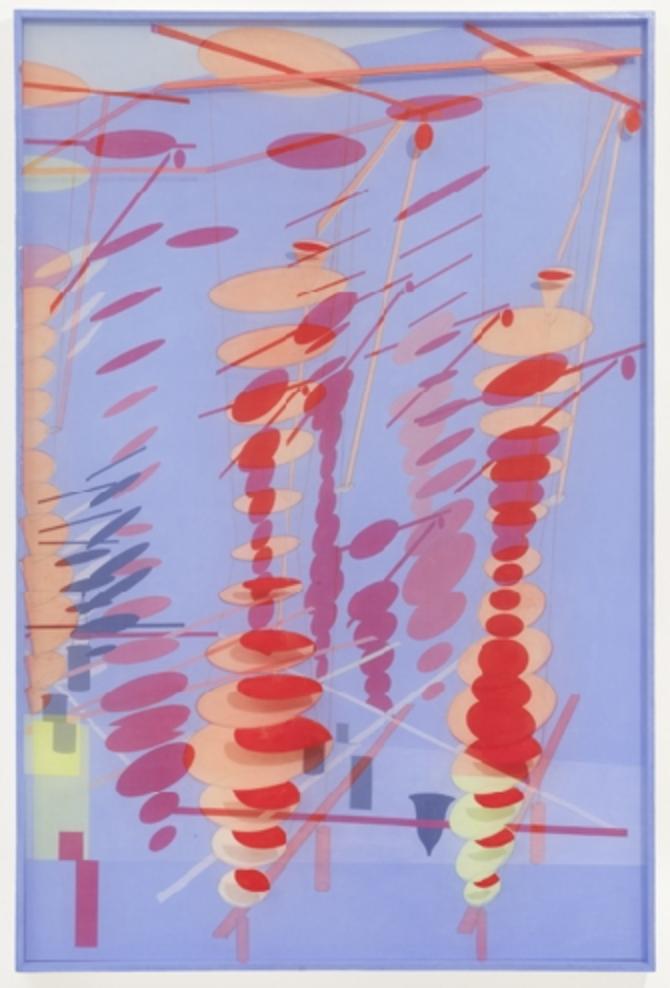 Bernard Moninot – Antichambre VI – 2012     11/12 Antichambre VI, 2012 acrylique sur carton preparé, toile de soie marouflée sur bois, 120 x 80 x 4 cm (47.2 x 31.5 x 1.6 in.)