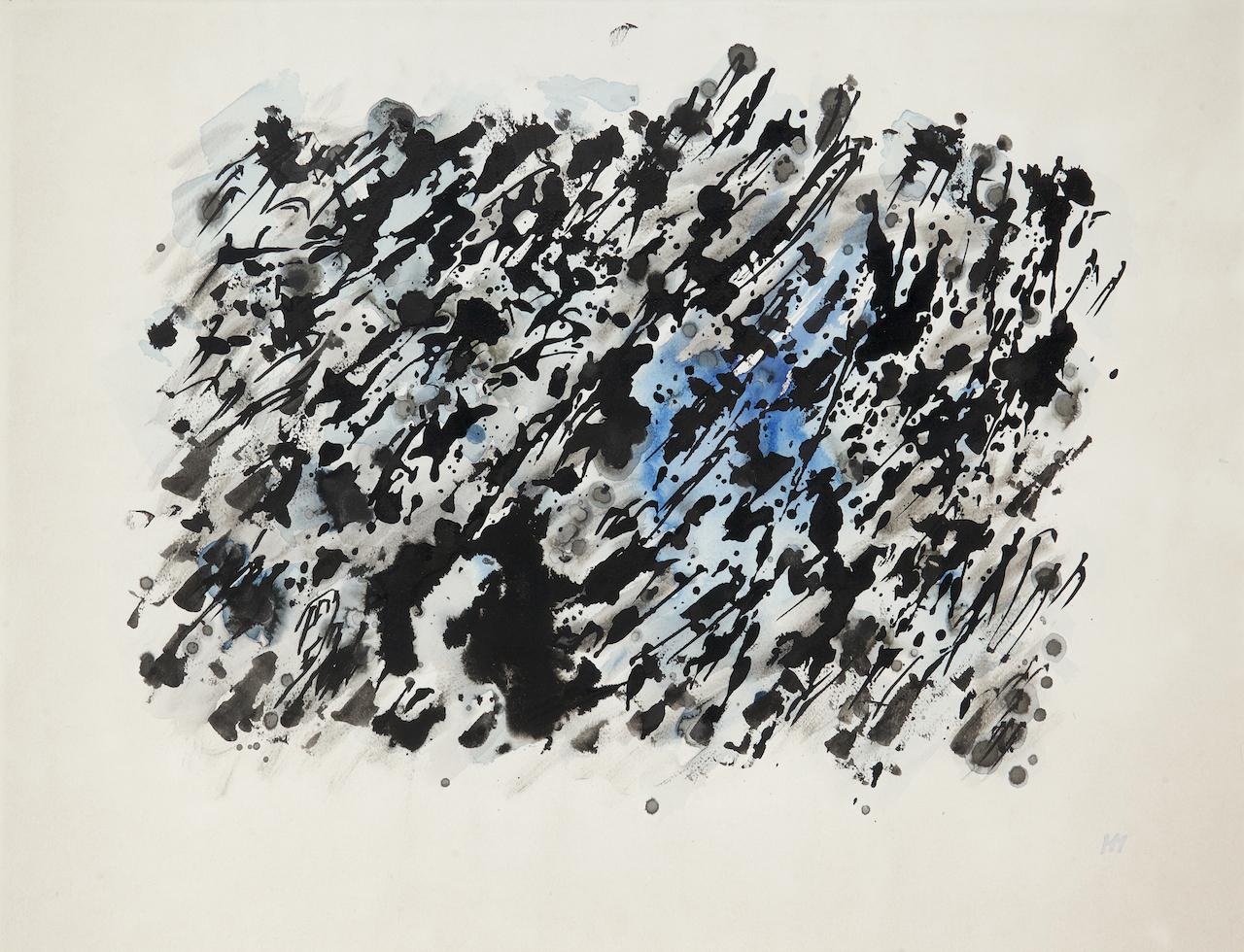 Encre et gouache sur papier – 1981 – 50 x 65 cm
