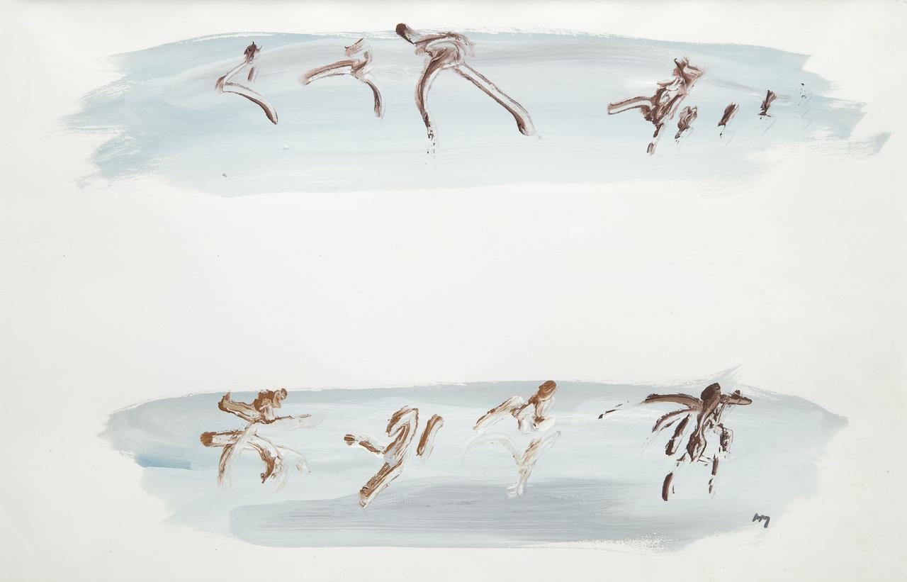 Gouache sur papier – 1965 – 32 x 49 cm