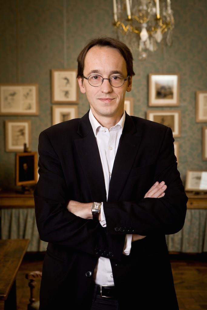 Louis de Bayser Président du Salon du dessin