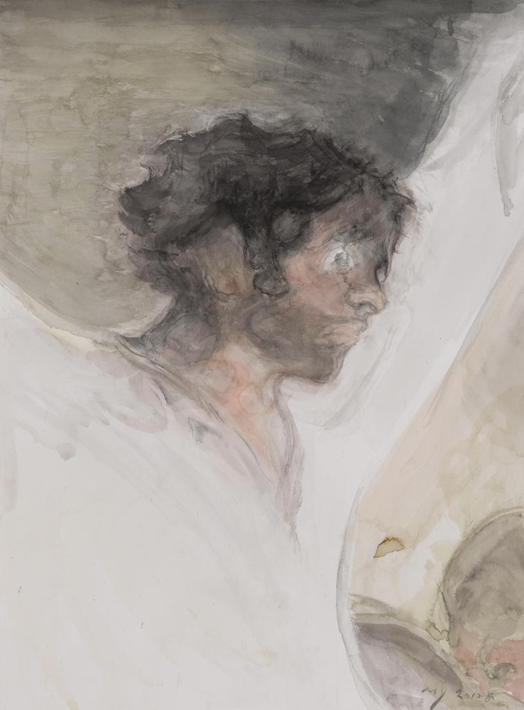 MAO YAN Goya Impression, 2010, Pinceau et aquarelle sur papier 300g fine grain 610x460mm Hadrien de Montferrand Gallery