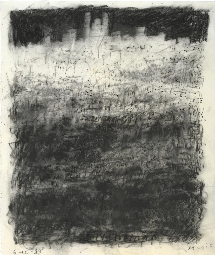 Zoran MUSIC, CittÖ, 1989, crayon, 50x40cm DITESHEIM & MAFFEI FINE ART SA