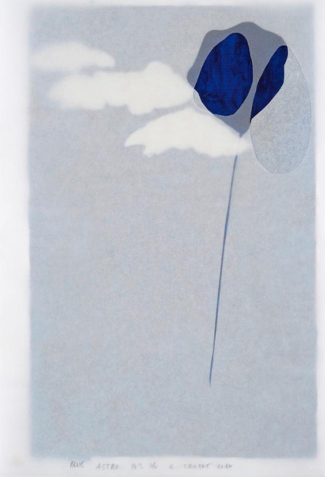 Previous16/18NextChristine Crozat, NO BLUE n°6 , 2017, techniques mixtes, 29,7 x 21 cm