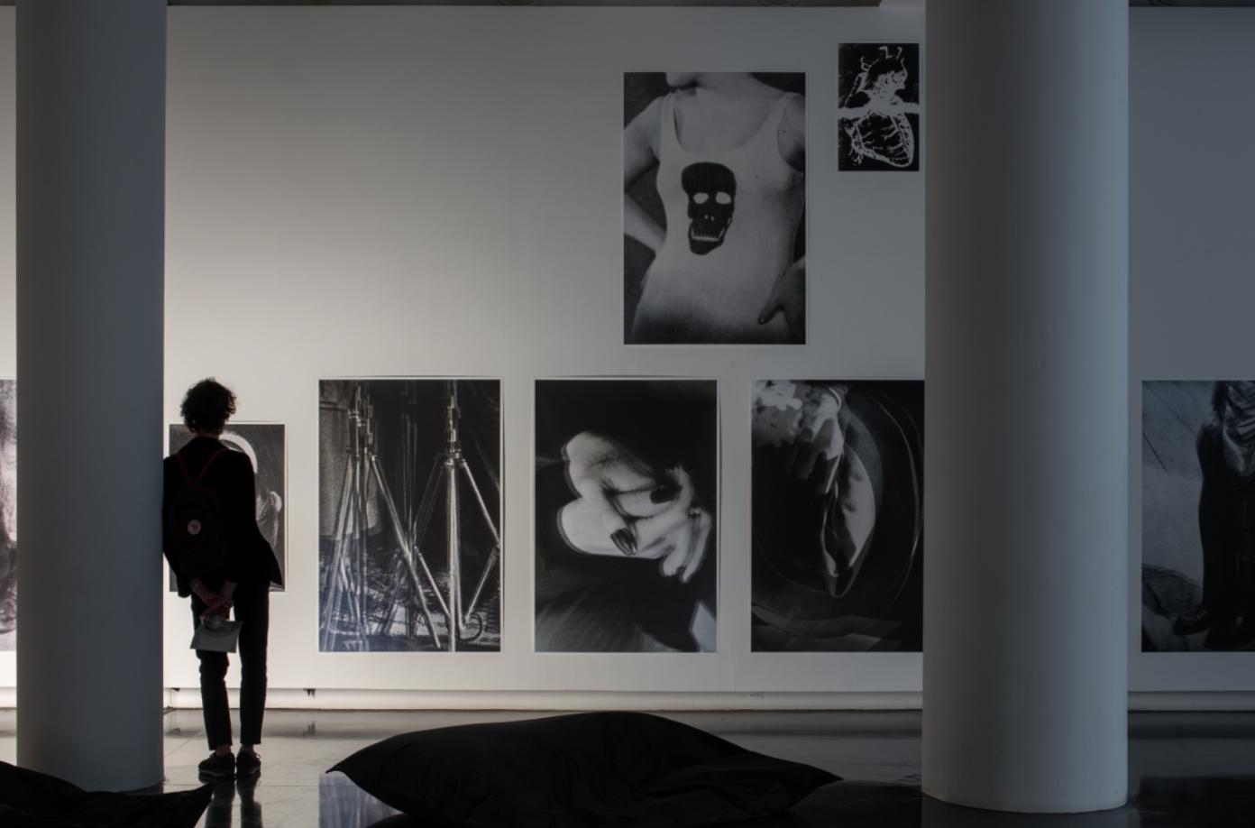 Vue de l'exposition Batia Suter, Le Bal