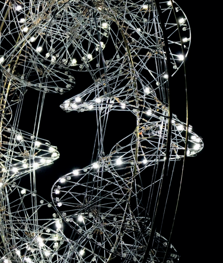 Image extraite du catalogue d'exposition d'Alain Lebucher , galerie Lélia Mordoch 2018