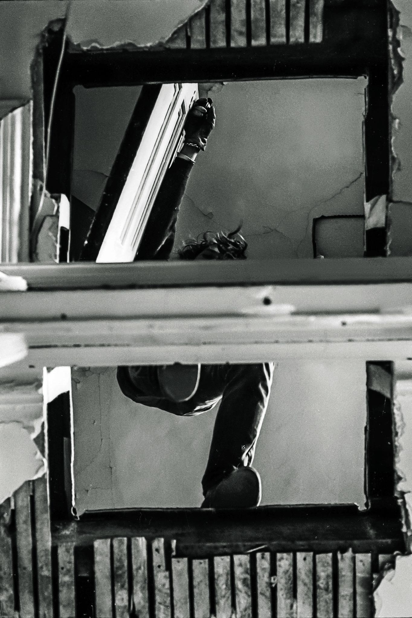 Gordon Matta-Clark Bronx Floor: Boston Road, 1972 Courtesy The Estate of Gordon Matta-Clark et David Zwirner, New York / Londres / Hong Kong. © 2018 The Estate of Gordon Matta-Clark / ADAGP, Paris