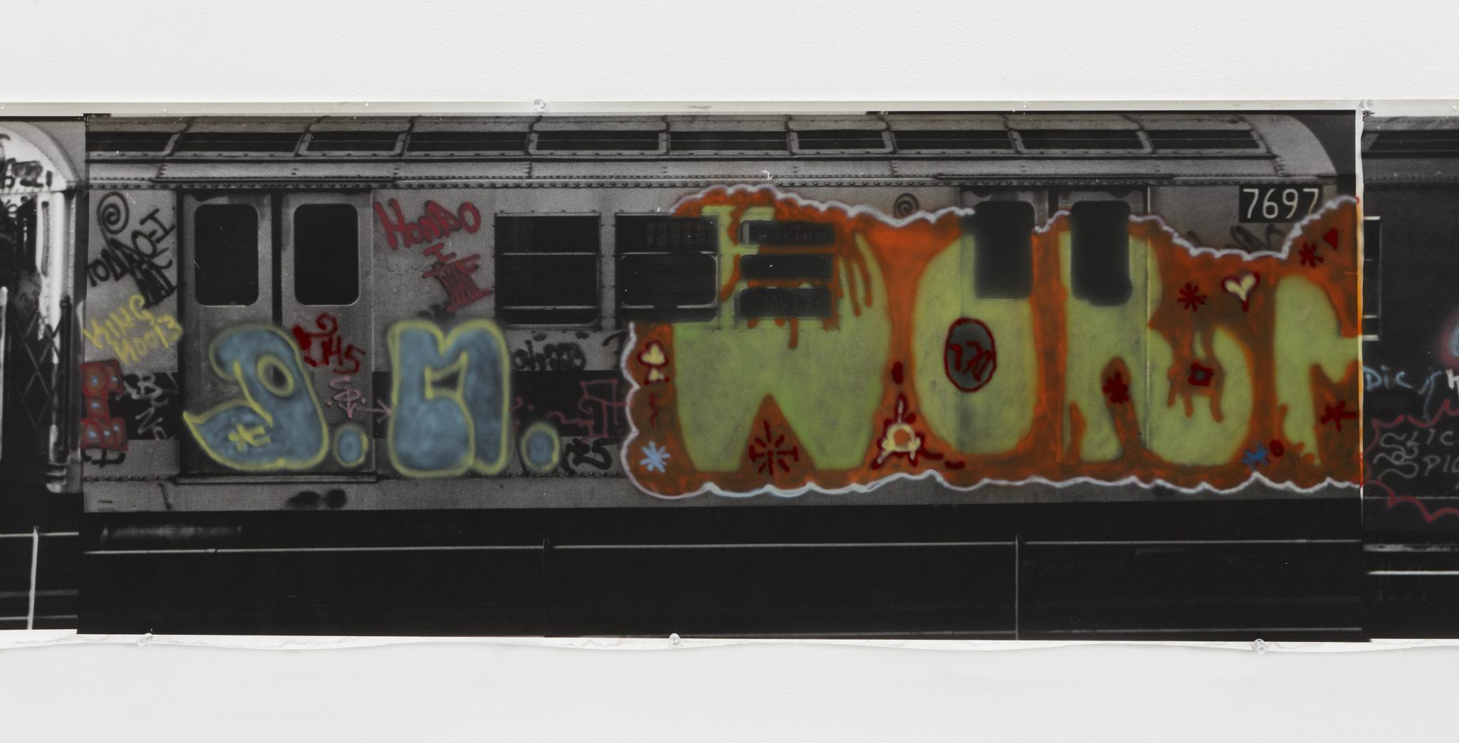 Gordon Matta-Clark Graffiti, 1975 Courtesy The Estate of Gordon Matta-Clark et David Zwirner, New York / Londres / Hong Kong. © 2018 The Estate of Gordon Matta-Clark / ADAGP, Paris