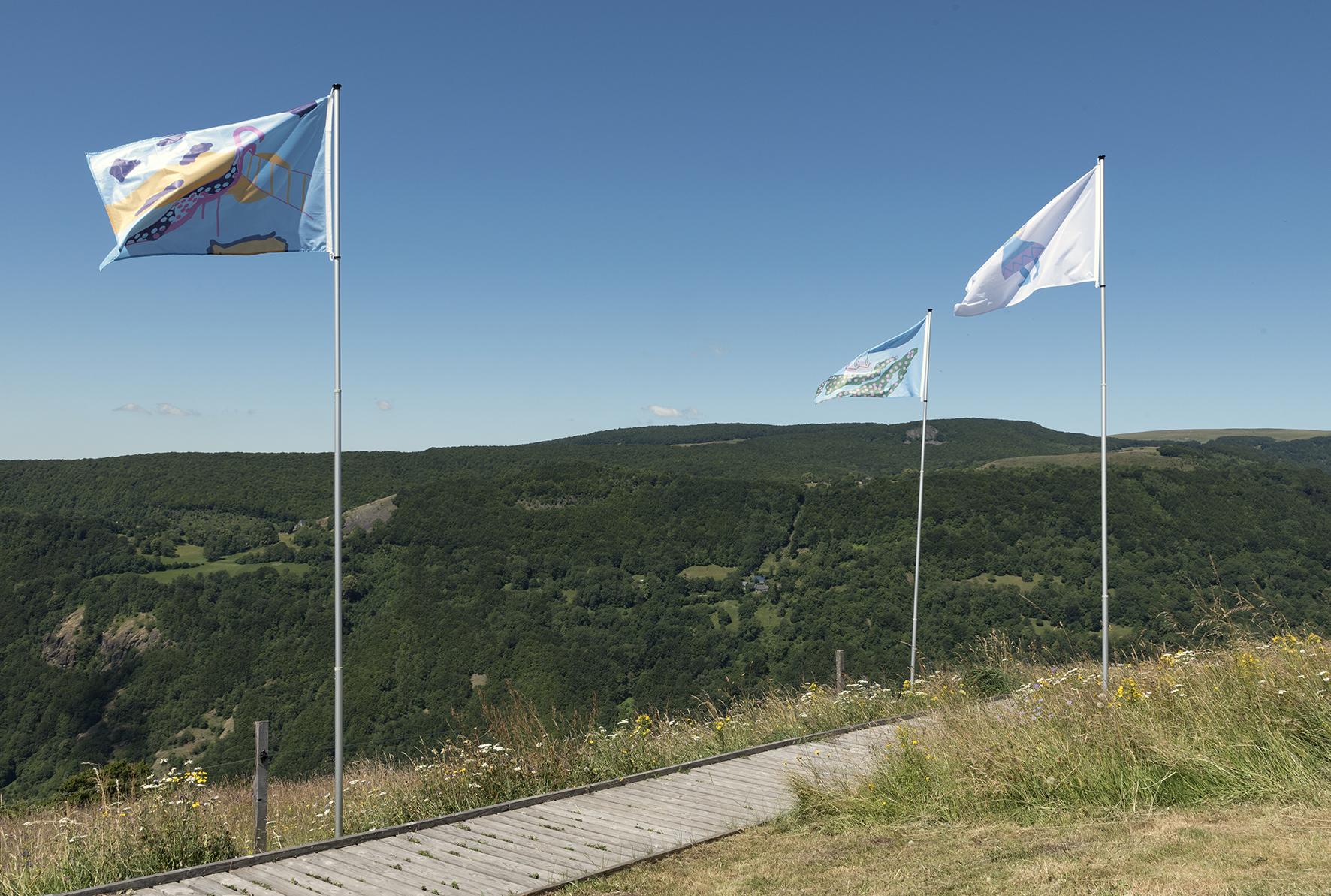 drapeau,Anne Marie Rognon, Saint-Flour