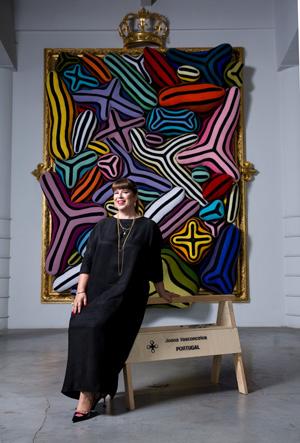 Joana Vasconcelos 2017  © Kenton Thatcher