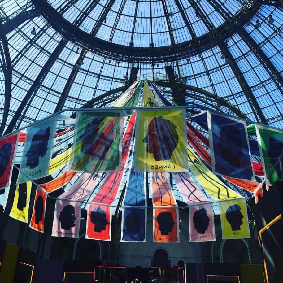 Jean-Charles de Castelbajac, Biennale Paris, Grand Palais, photo ARTVISIONS
