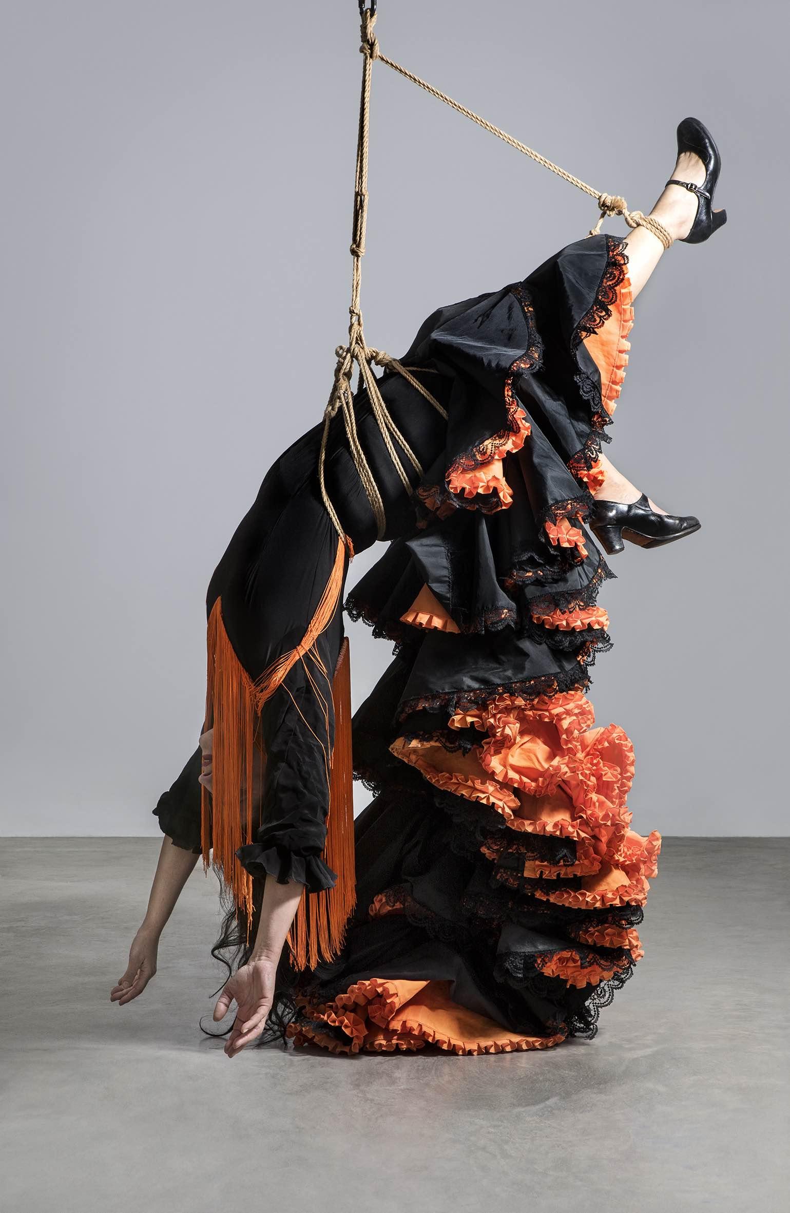 Georges-Philippe & Nathalie Vallois – Pilar Albarracín Bleue -2018 – Courtesy Galerie GP & N Vallois, Paris – Photogaphie couleur.