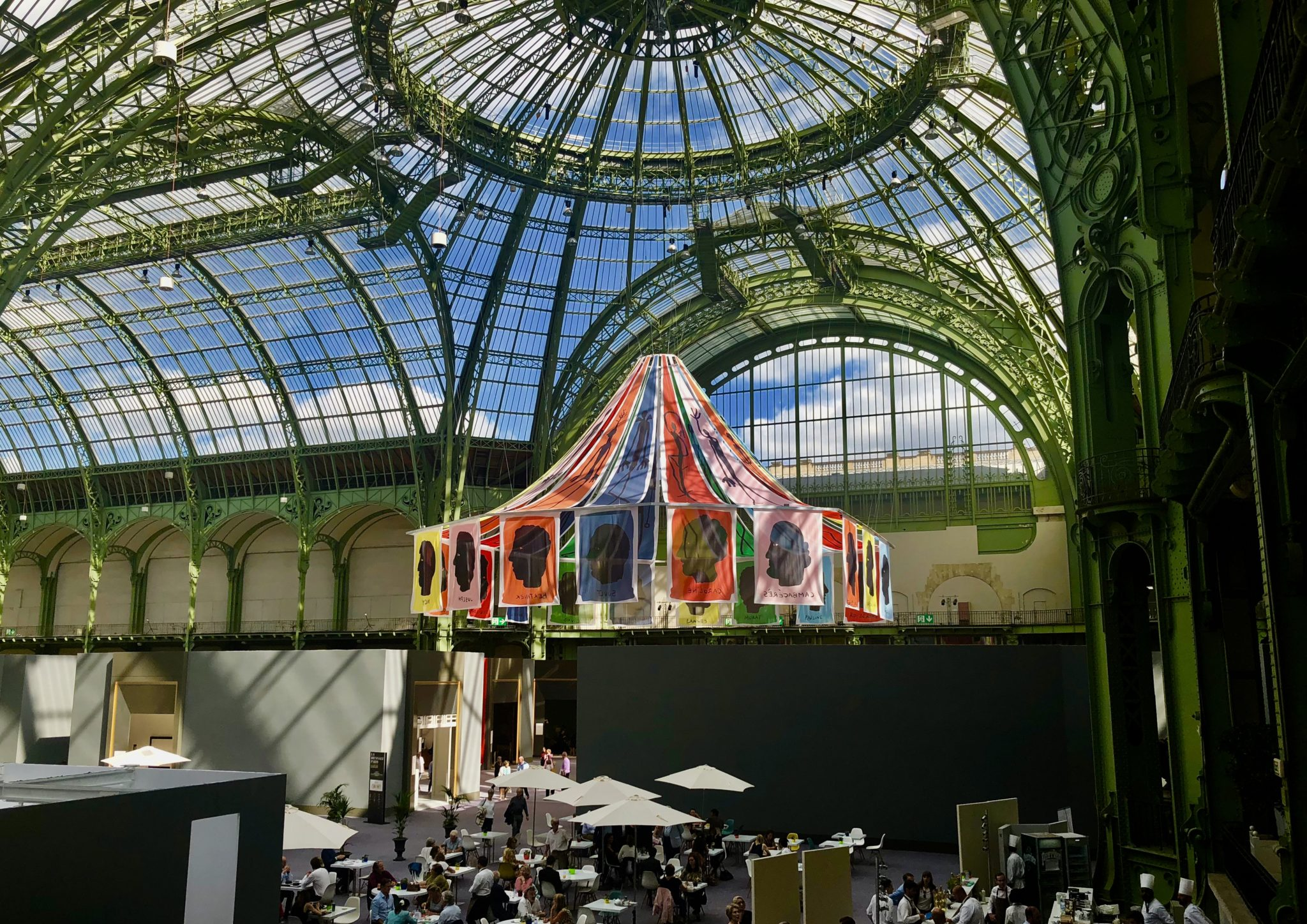Jean-Charles de Castelbajac, Biennale Paris, Grand Palais, photo l'Agence de l'art