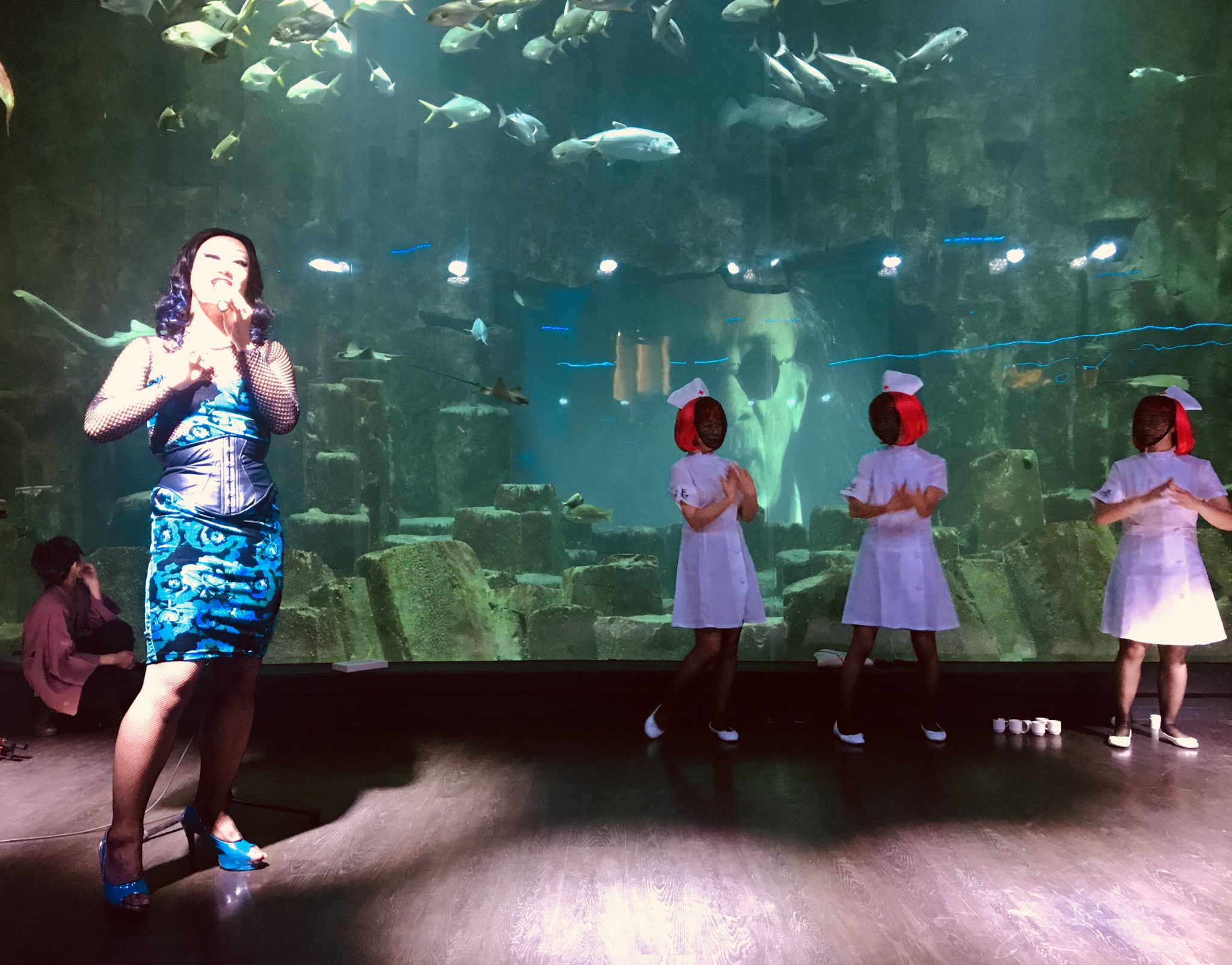 Aki Kuroda, Aquarium de Paris, photo ARTVISIONS.FR