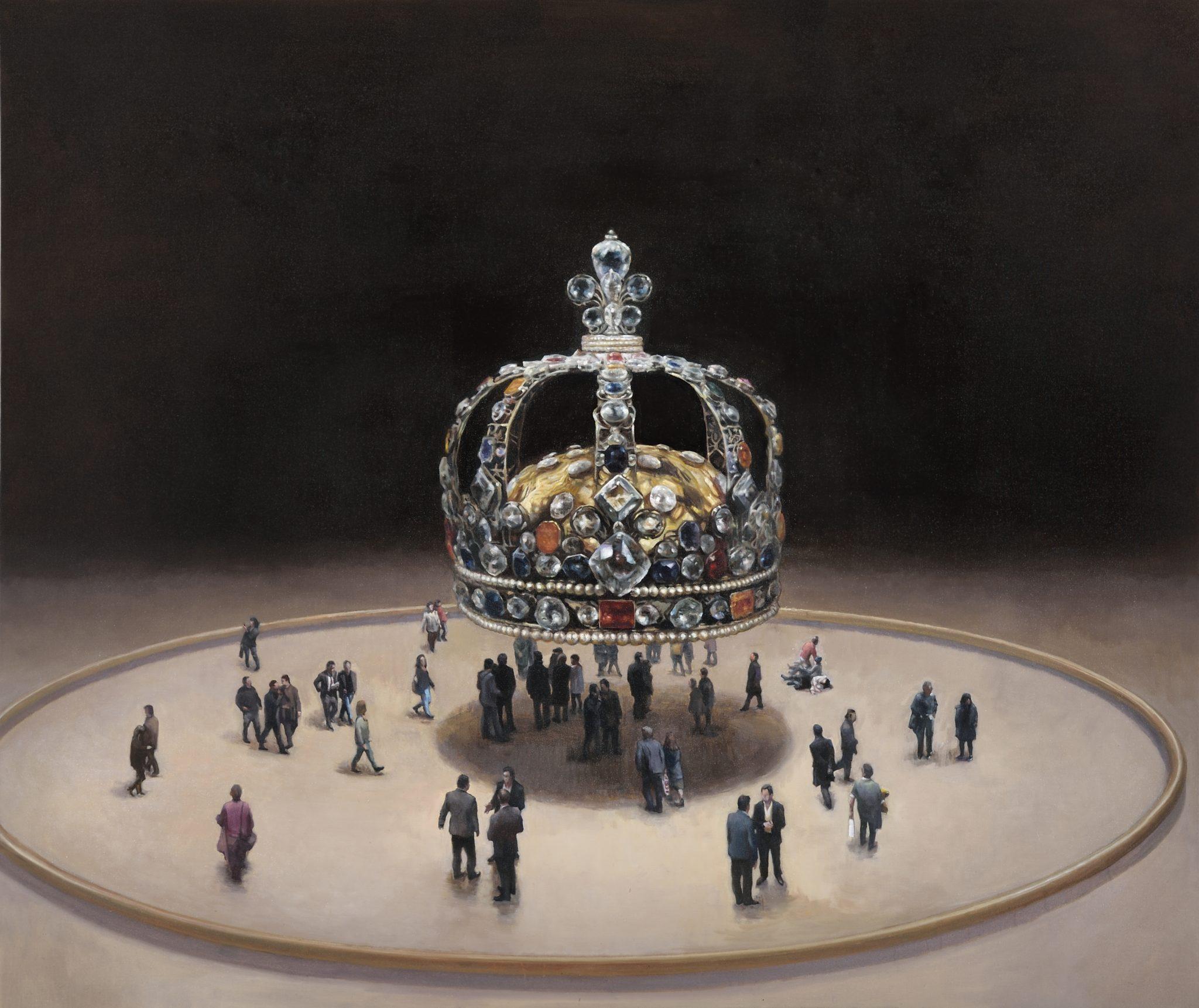 France, Paris, Reproductions de peintures de Xiao Fan Ru