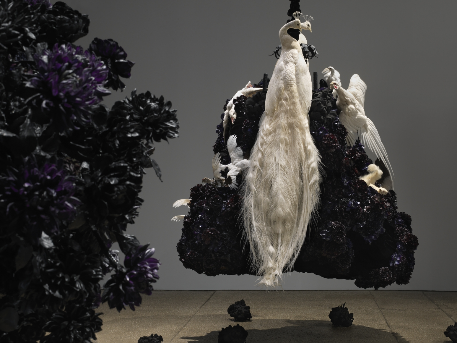 Petah Coyne Untitled #1375 (No Reason Except Love: Portrait of a Marriage) (detail), 2011-12