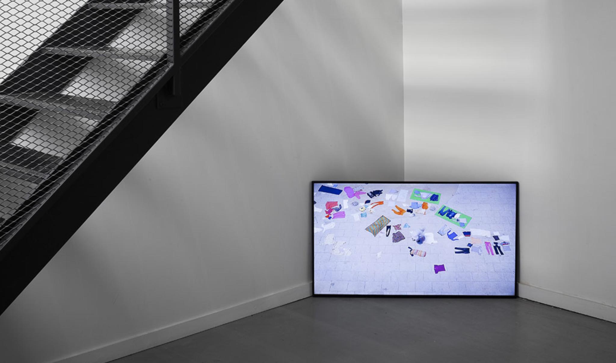 Vue de l'exposition, Carlos Alfonso, galerie Paris-Beijing