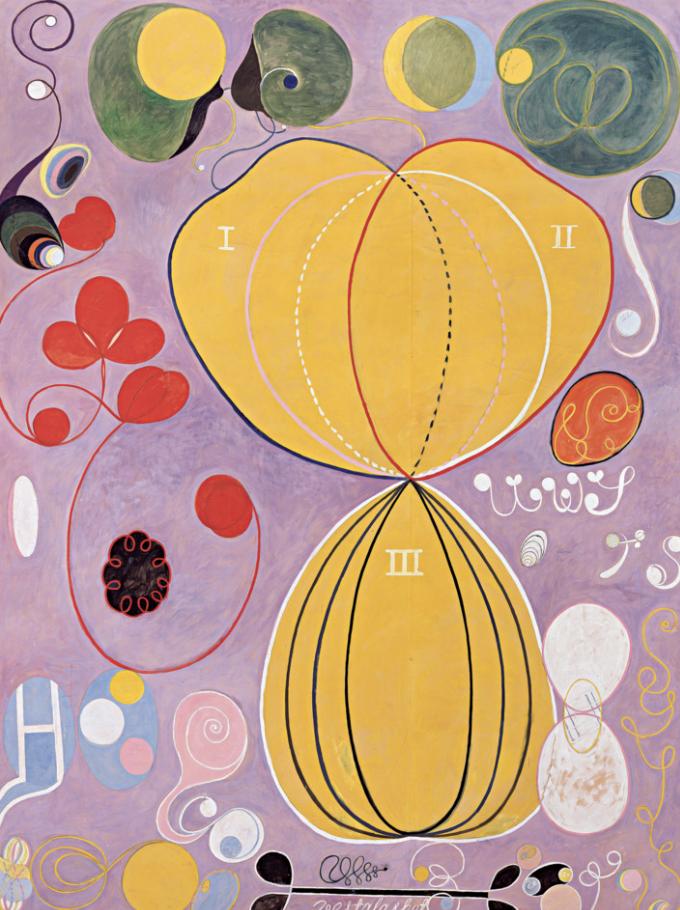 Hilma af Klint, Guggenheim, New York. From 12 October 2018 to 23 April 2019