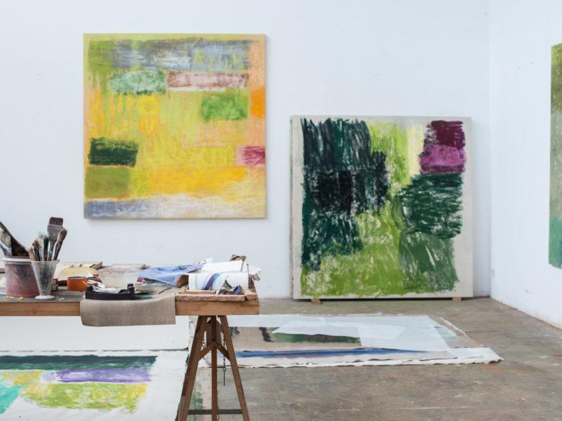 Monique Frydman, Espace Commines. Du 7 au 11 novembre, en permanence à la galerie Bogena à Saint Paul de Vence.