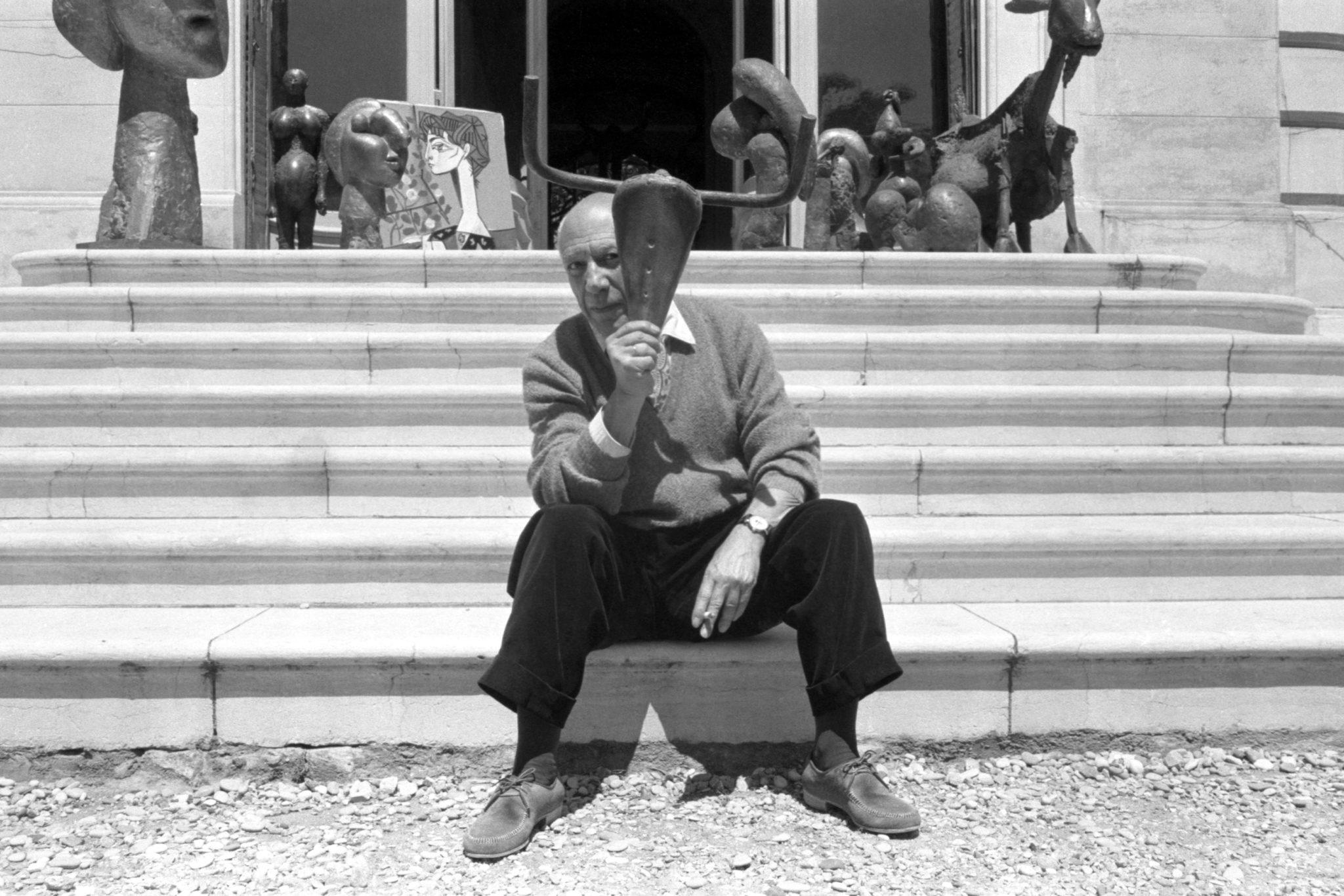Pablo Picasso – Escaliers sculptures