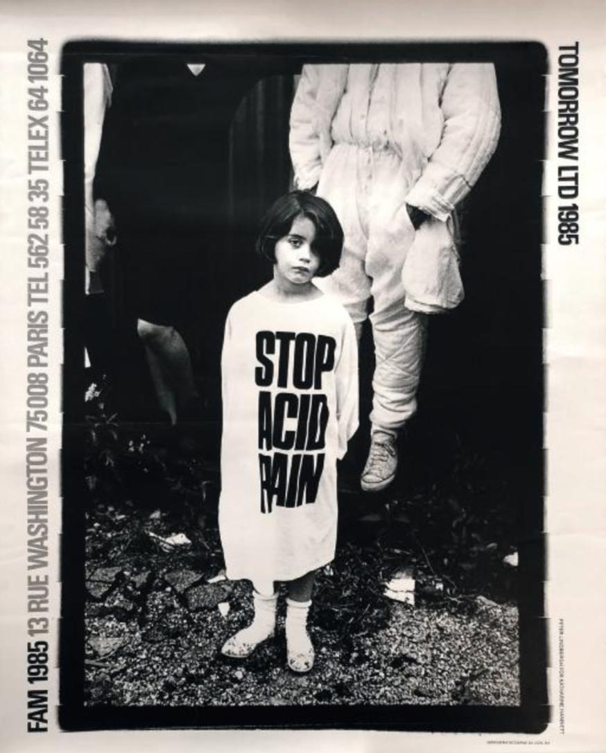 Affiche exposition FAM, 1985. ©Peter Lindbergh
