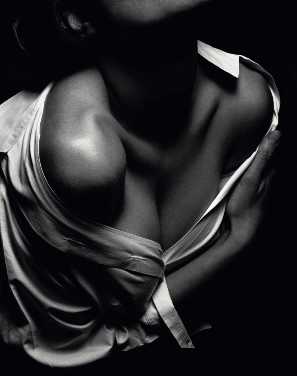 Charlotte Flossaut. © Albert Watson