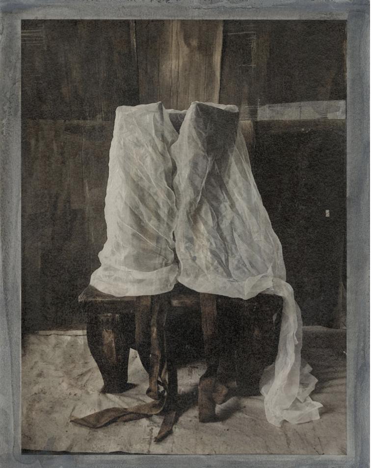 Sans titre, Inkjet print sur papier Hahnemühle réhaussé, 33 x 27 cm, 2018, Jean-Michel Fauquet, courtesy La Galerie Particulière, Paris