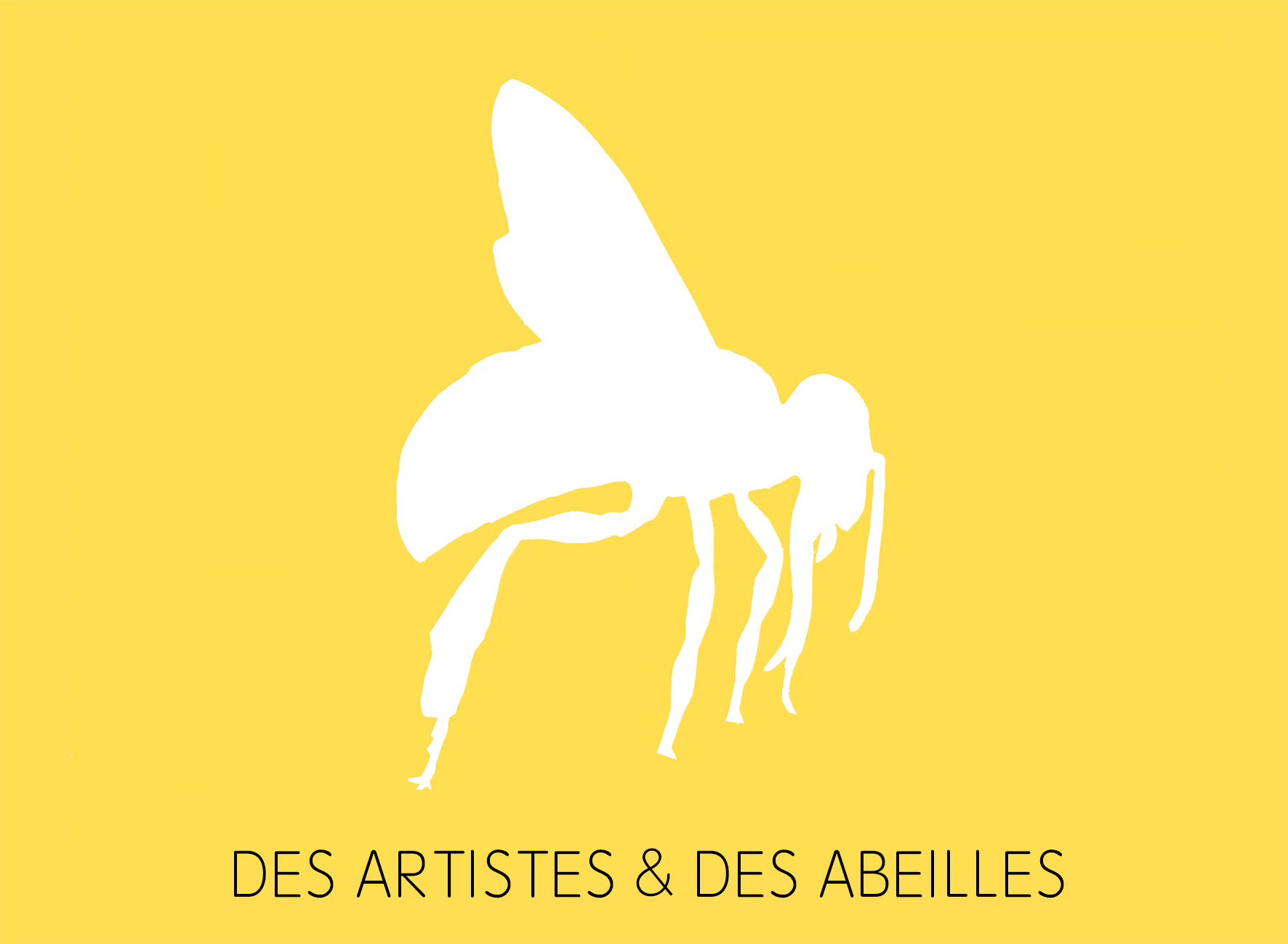 Crédit photo :  « Des Artistes & des abeilles », Topographie de l'art, photo : Catherine Rebois.