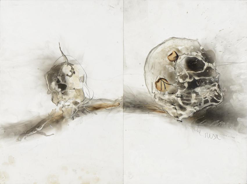 Jean-Paul Marcheschi, Savvi Minòs orribilmente, e ringhia, Dante, chant V de L'Enfer, 2018 © François Pons